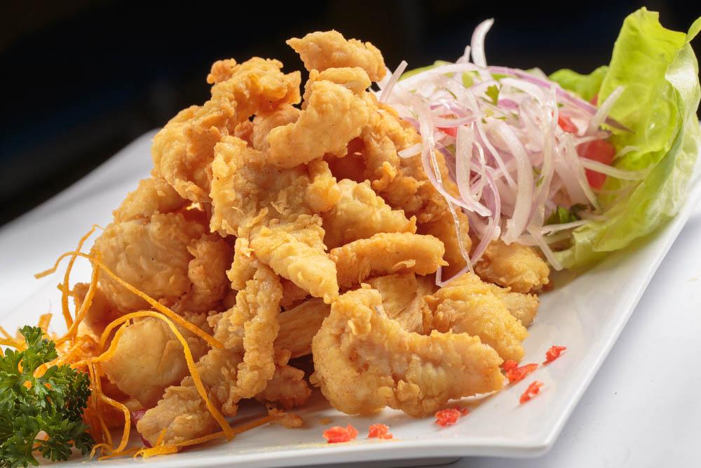 Chicharrones, deep-fried pig skin. Photo: Shutterstock