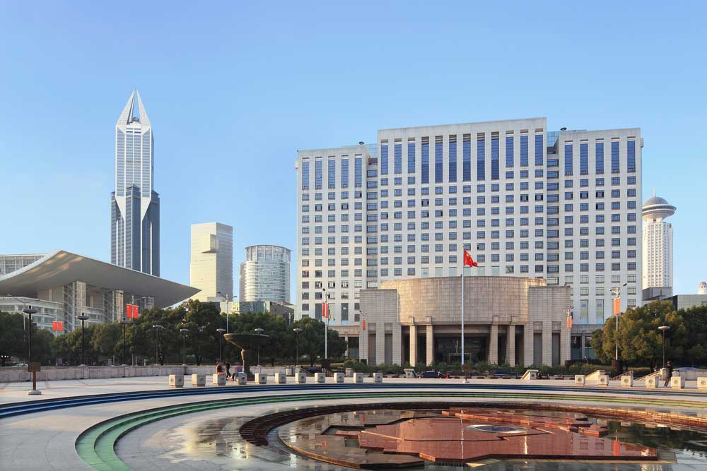 Shanghai People's Square scenery. Photo: Shutterstock