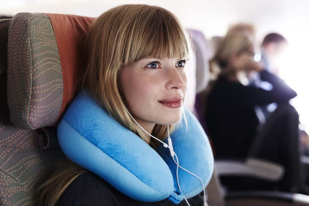 Travel pillow. Photo: Shutterstock
