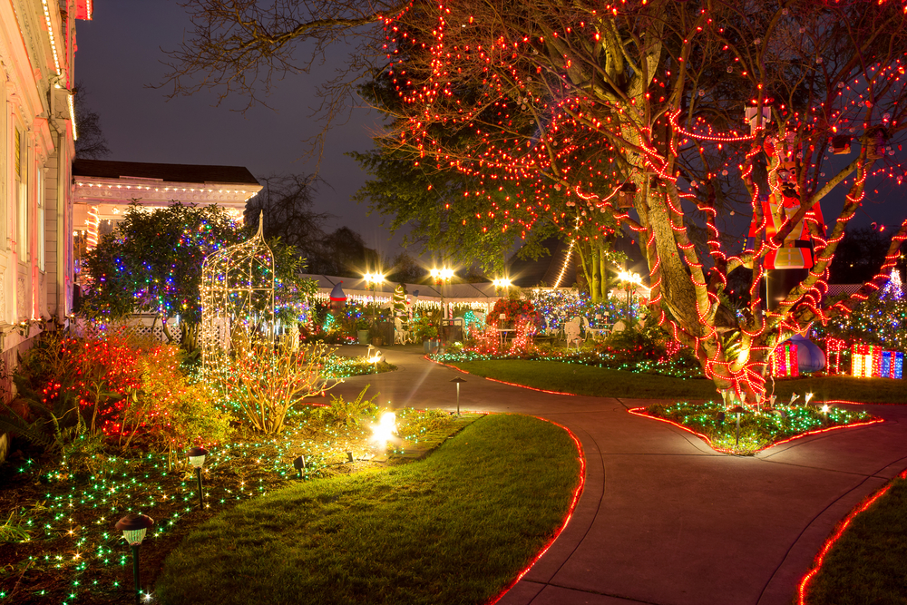 Chtistmas light festival in Portland. Photo: Victoria Ditkovsky/Shutterstock