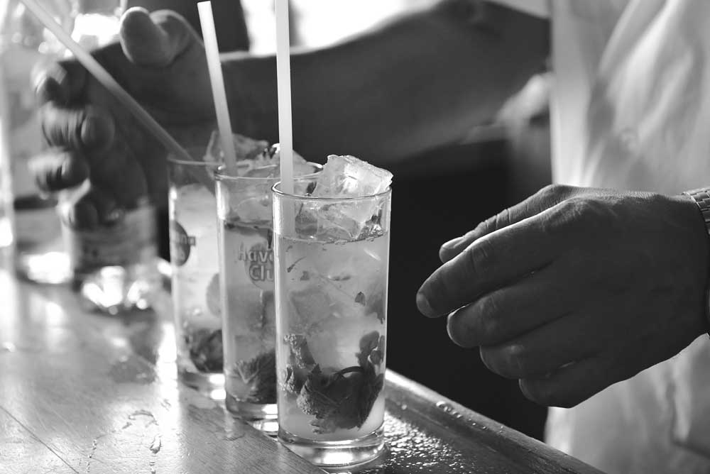 El Varadero offers the classic Mojito drink. Photo: Shutterstock