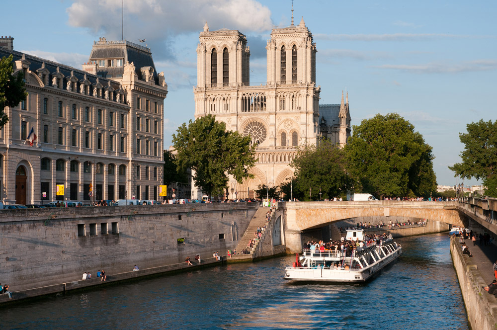 Notre-Dame, a Gothic masterpiece. Photo: Shutterstock