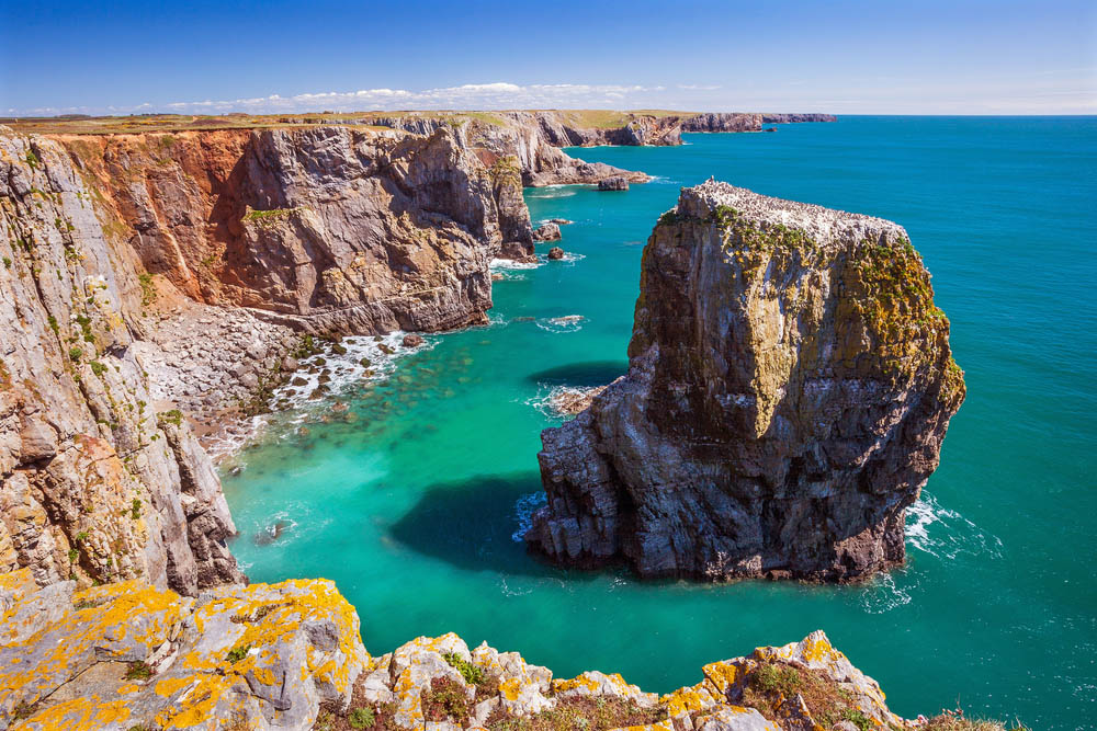 Stack Rocks, Pembrokeshire Coast National Park. Photo: Shutterstock