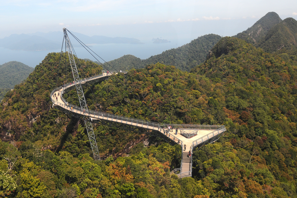 The famous SkyBridge, Langkawi, Malaysia. Photo: Shutterstock