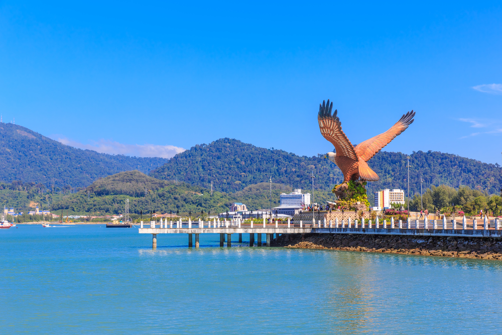 Eagle Square in Langkawi. Photo: Shutterstock