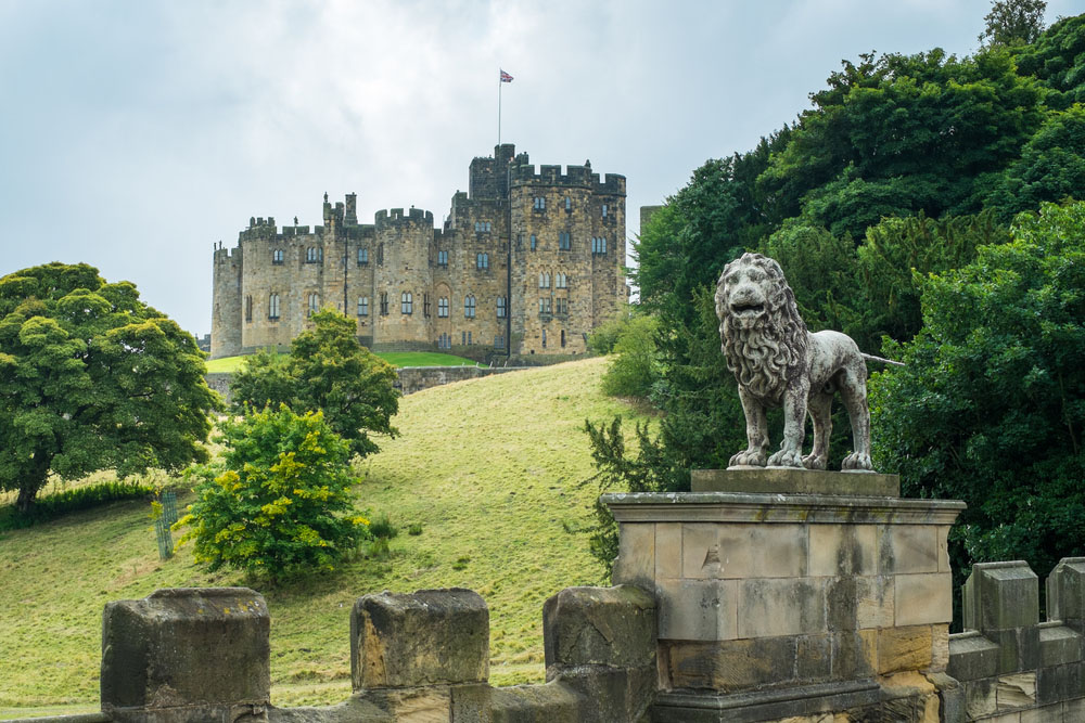 Alnwick Castle. Photo: Shutterstock