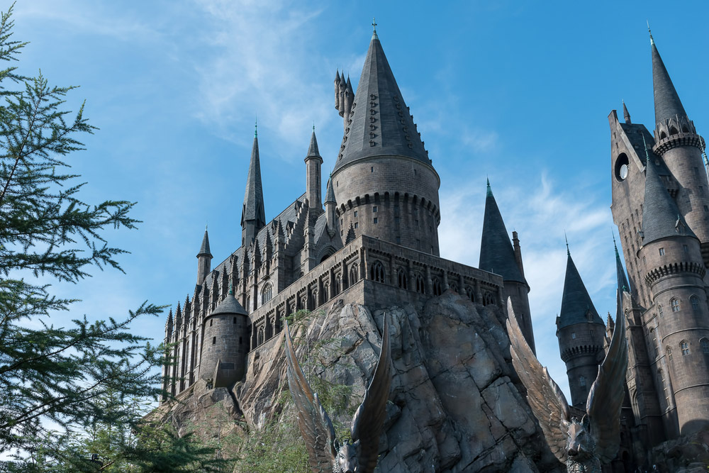 Part of Hogwarts Castle at The Wizarding World Of Harry Potter at Universal Studios Orlando.  Photo: ShutterstockPart of Hogwarts Castle at The Wizarding World Of Harry Potter at Universal Studios Orlando. Photo: Shutterstock