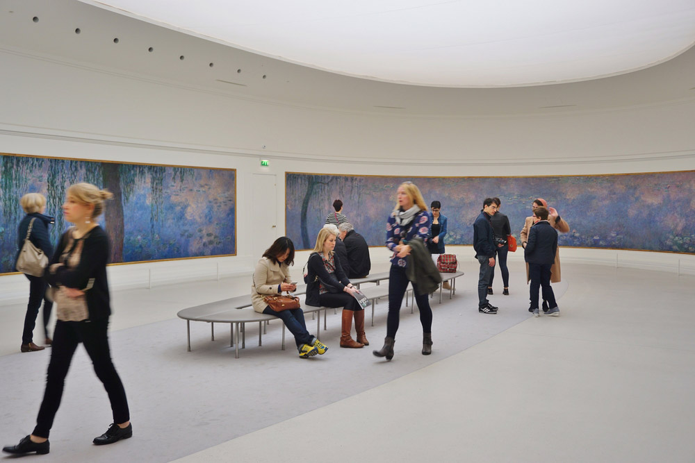 Musee de l Orangerie in Paris. Photo: Shutterstock