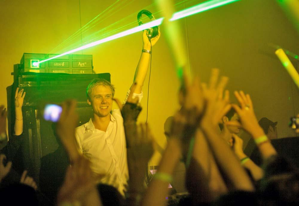 Armin Van Buuren at M2, Shanghai. Photo: Maxime Guilbot/Flickr