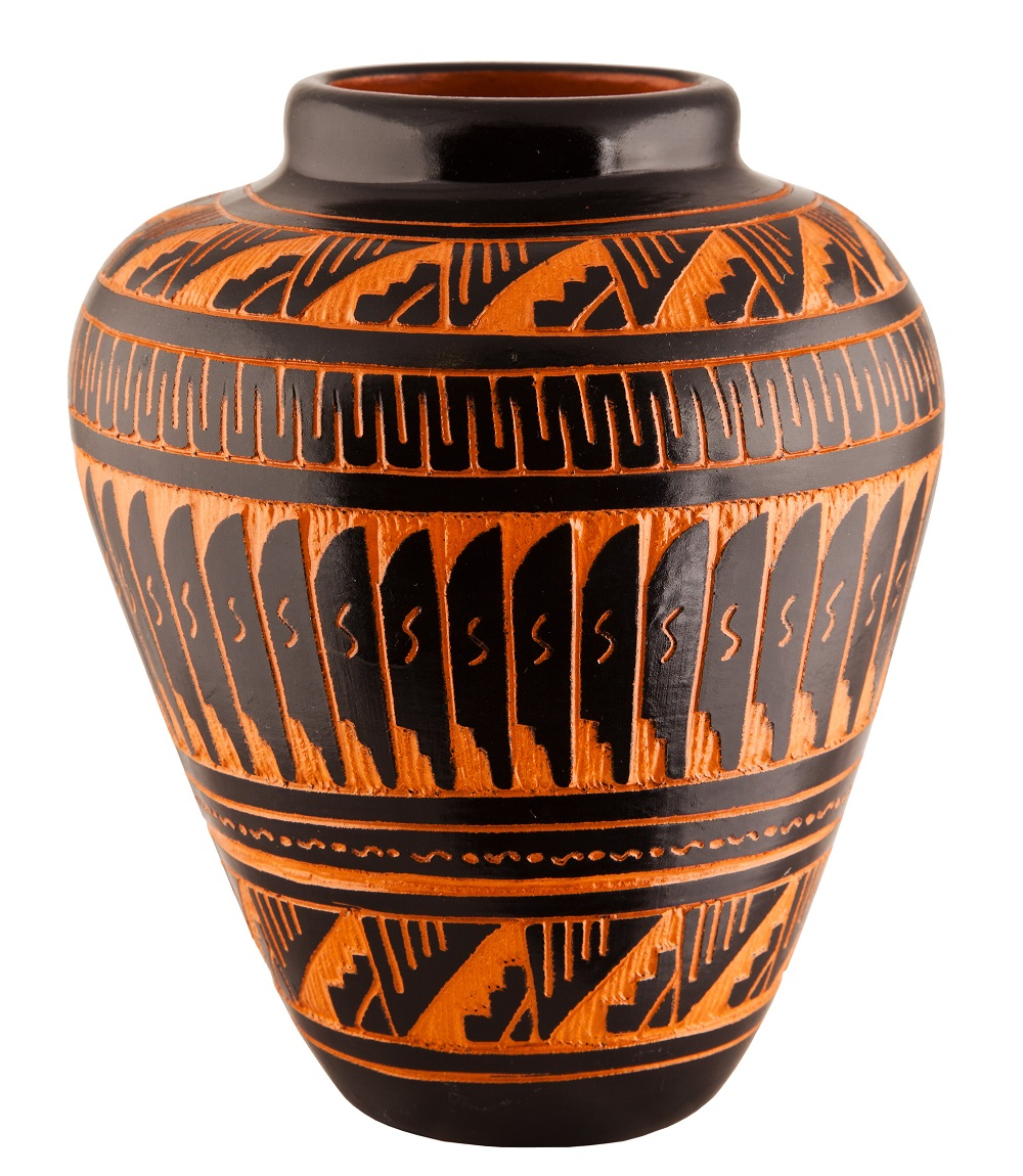 Navajo Native American Clay Pottery Decorative Vase. Photo: James Marvin Phelps/Shutterstock