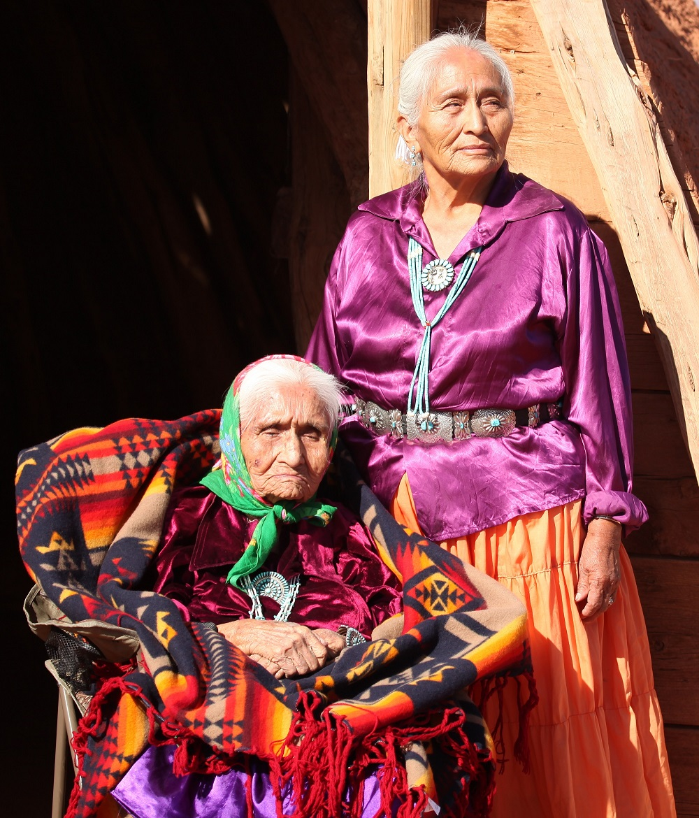 Two Navajo Wise Elderly Women. Photo: tobkatrina/Shutterstock