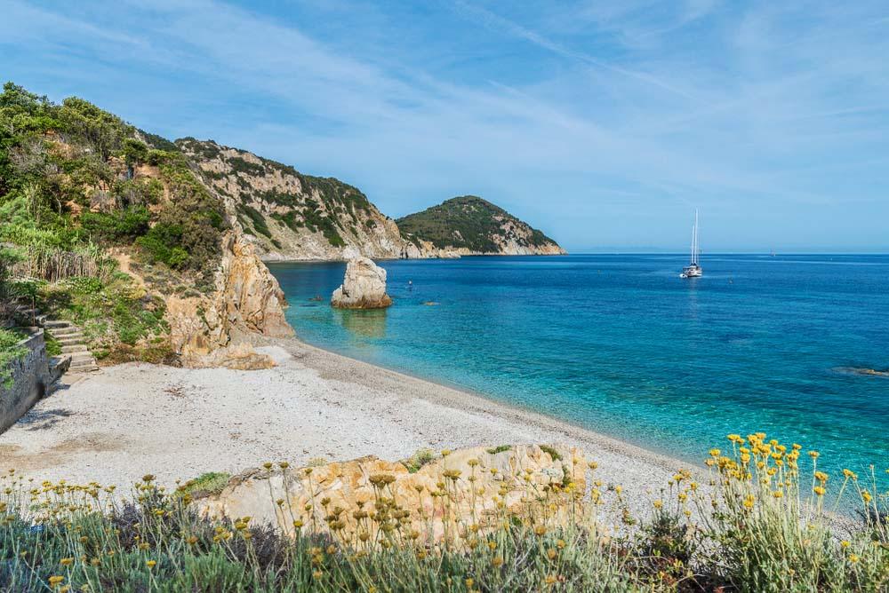 Sansone beach, Elba