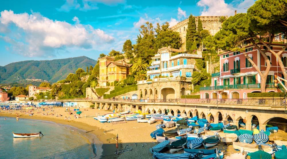 Levanto beach, Liguria