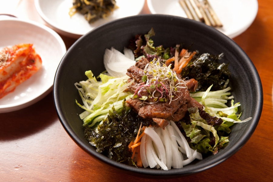 Korean traditional bibimbap