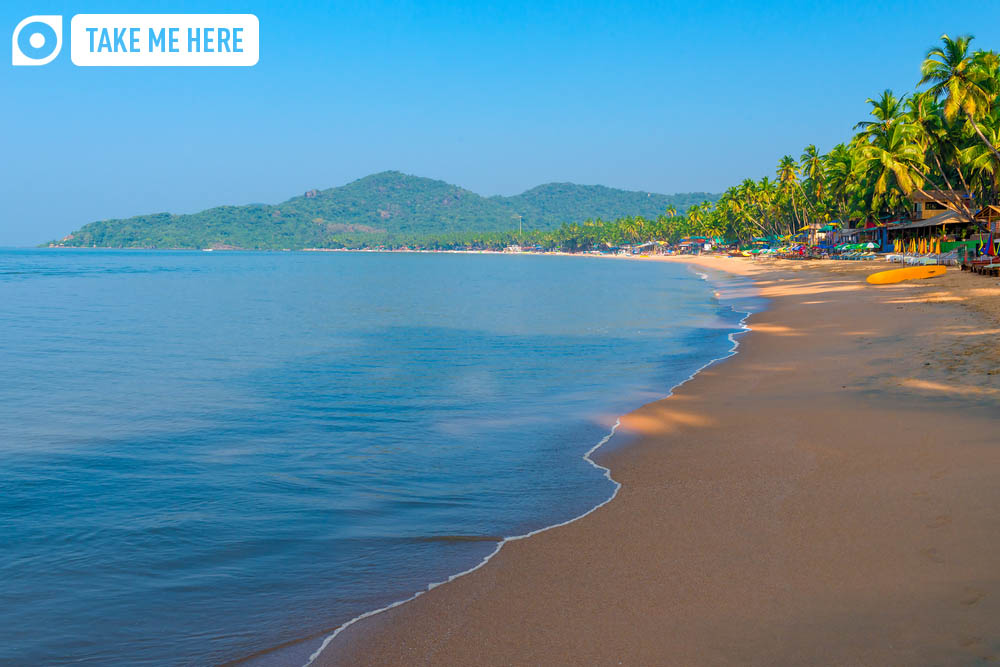 Goa's Palolem Beach