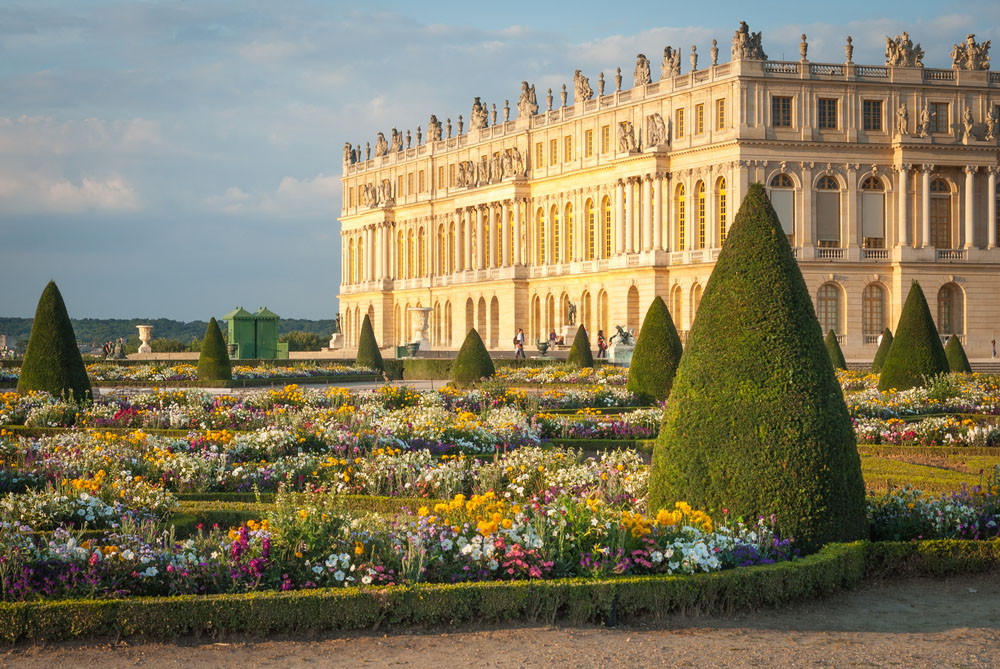 The Palace and Gardens at Versailles. Photo: Shutterstock