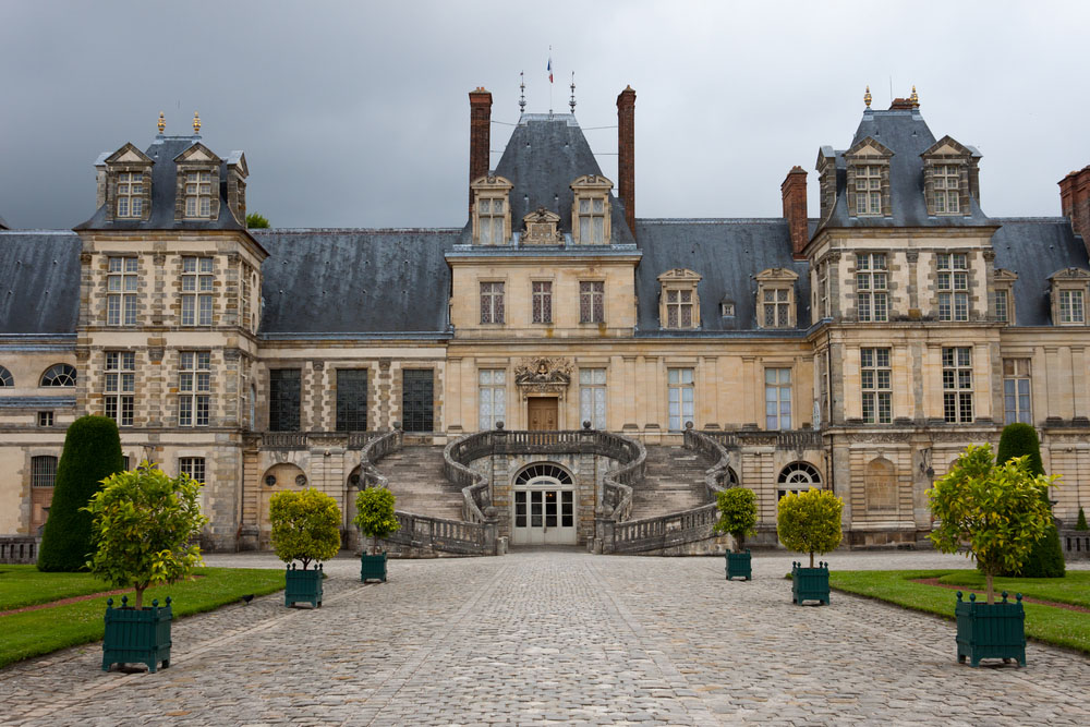 Château de Fontainebleau, once a residence of Napoleon. Photo: Shutterstock