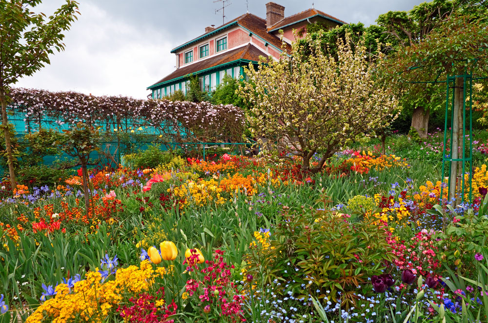 Monet's garden in full bloom at Giverny. Photo: Shutterstock