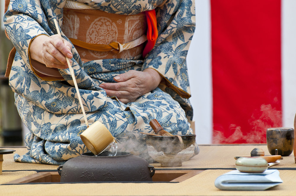Japanese tea ceremony. Photo: Shutterstock