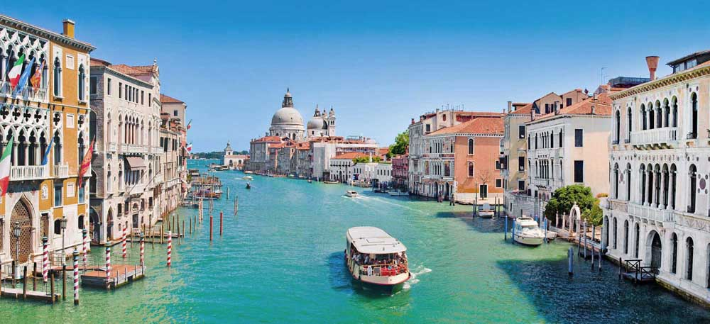 View of famous Canal Grande in Venice, Italy. Photo: Shutterstock