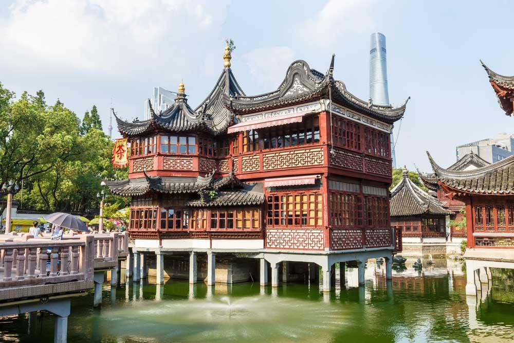 Huxinting Teahouse, Shanghai