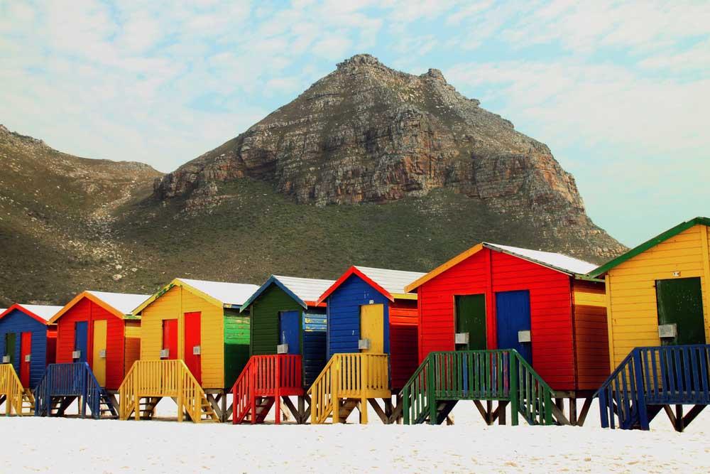 Beach huts at Muizenberg. Photo: Shutterstock