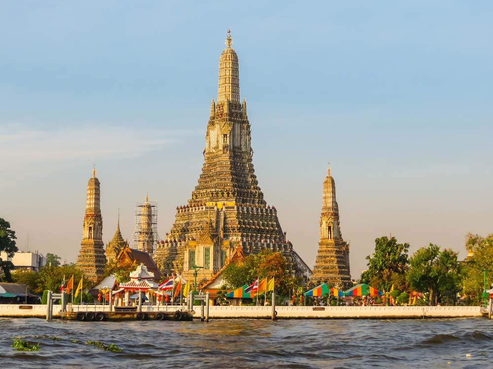 Wat Arun Temple, Bangkok.
