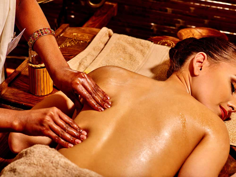 A massage in one of Sri Lanka's world-famous spas.