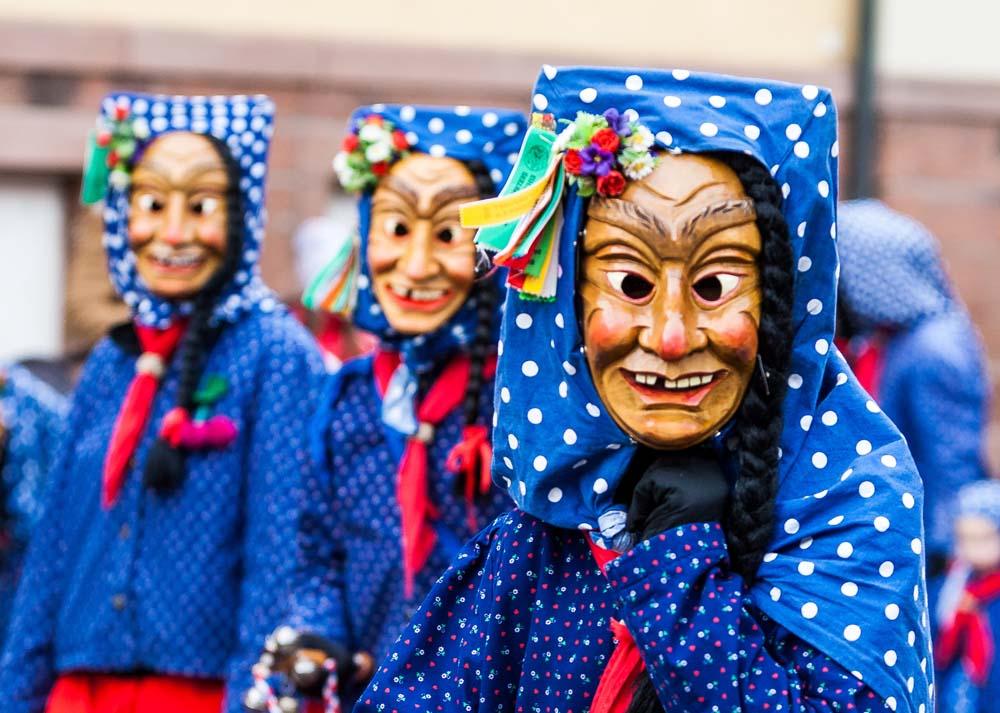 Carnival procession.