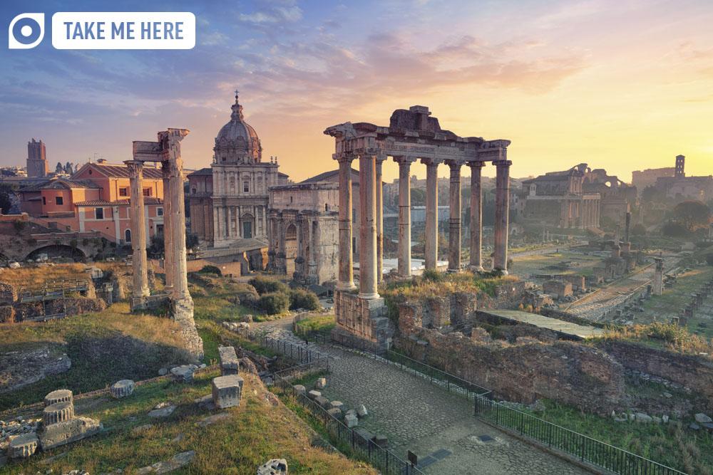 The Roman Forum, Rome.