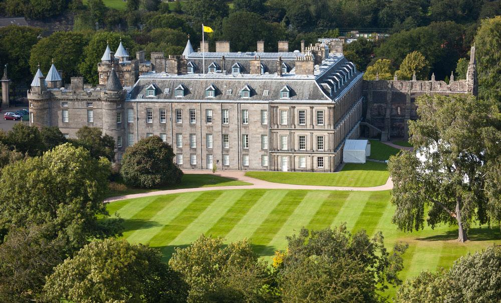 Holyrood Palace. Photo: Shutterstock