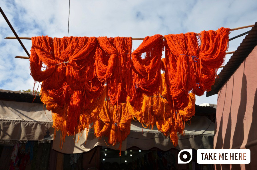 The souks of Marrakech