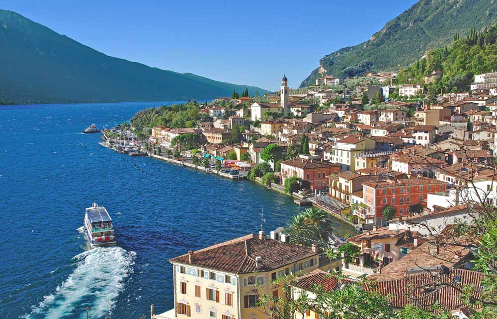 View over the famous Village of Limone sul Garda. Photo: Shutterstock
