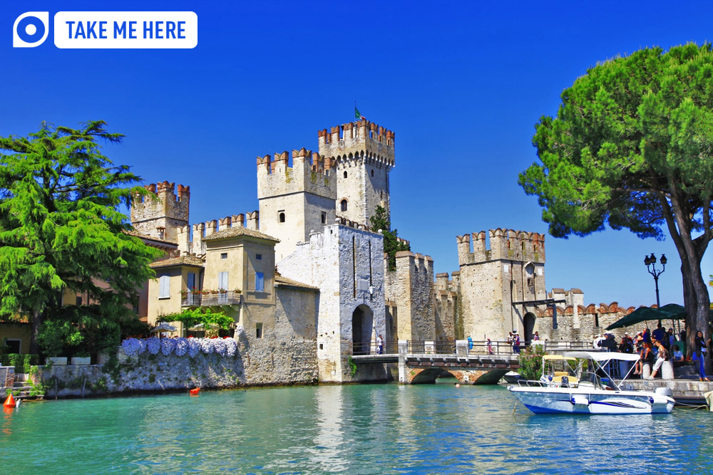 Sirmione's Castle, Lake Garda.