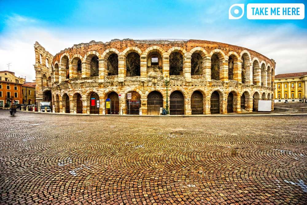 The Arena di Verona.