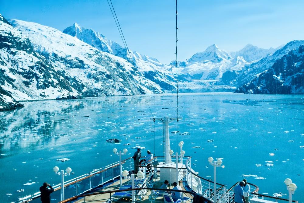 Alaska's Glacier Bay. Photo: Ruth Peterkin/Shutterstock
