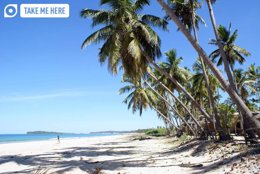 Beachfront in Uppuveli, Sri Lanka. Photo: Valery Shanin/Shutterstock