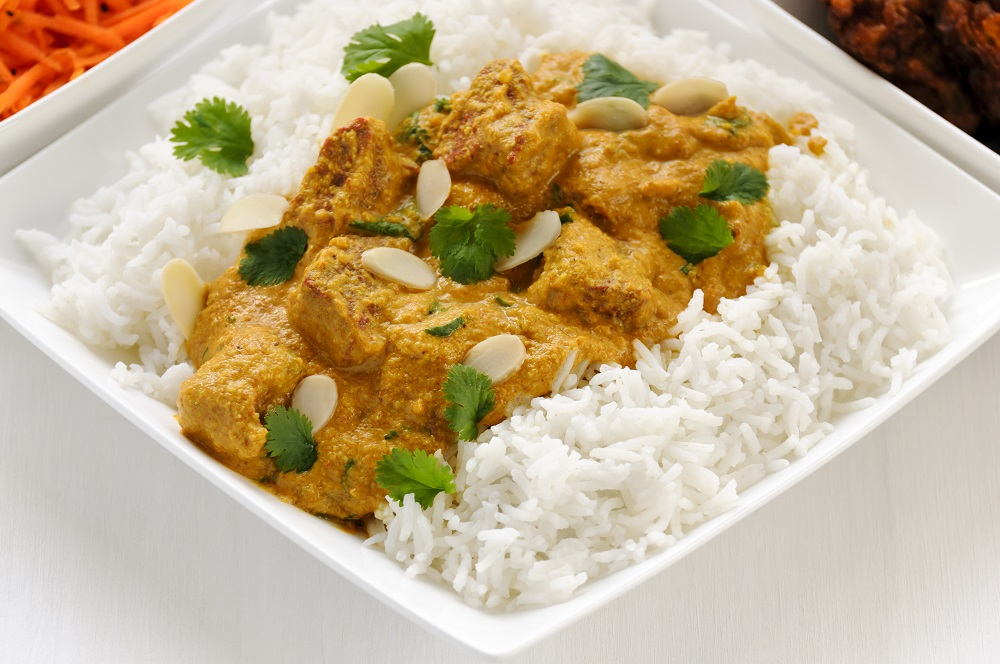 Rice and curry meal. Photo: threeseven/Shutterstock
