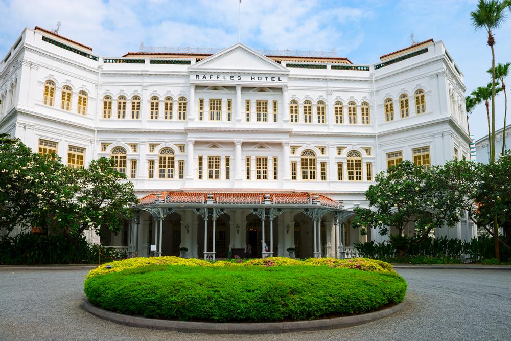 The Raffles Hotel. Photo: Iryna Rysko/Shutterstock