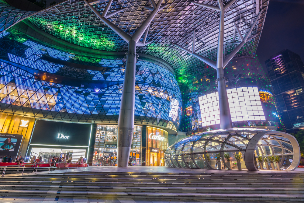 ION Orchard mall, Singapore. Photo: Korkusung/Shutterstock