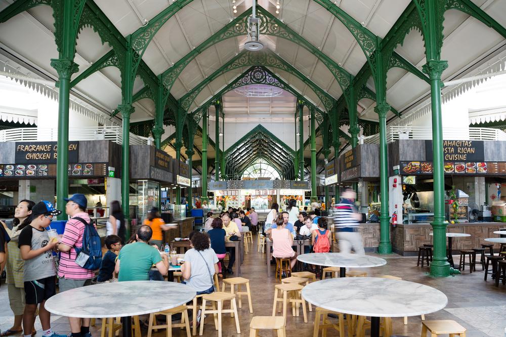 Lau Pa Sat Festival Market. Photo: DoublePHOTO studio/Shutterstock