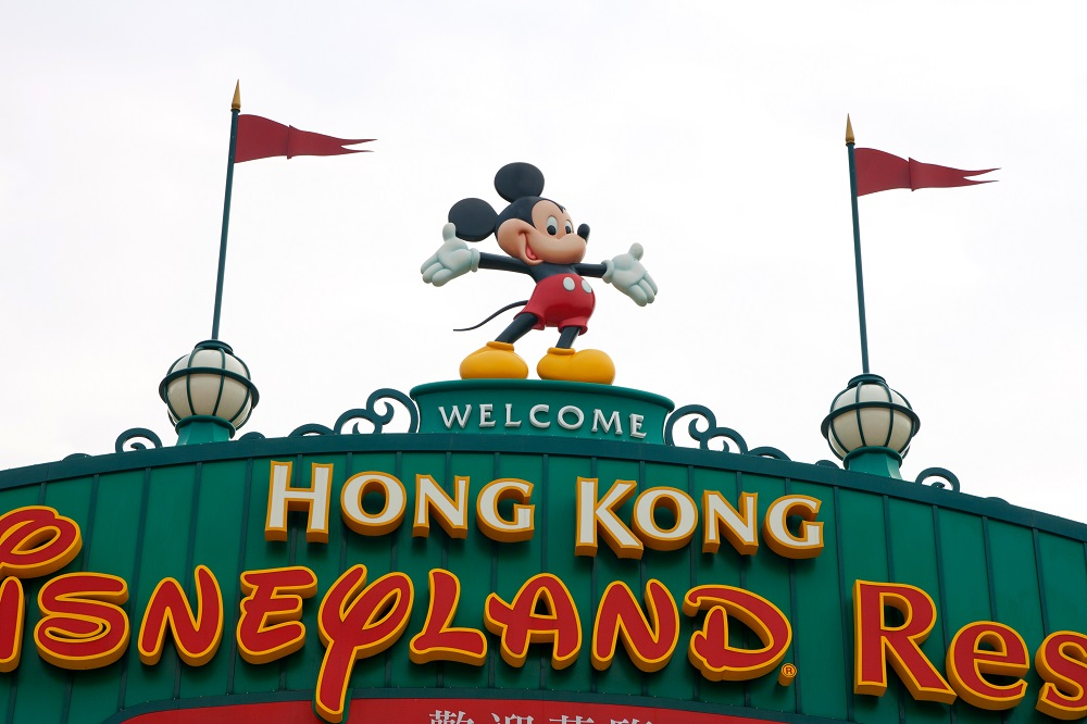 Hong Kong Disneyland. Photo: Shutterstock