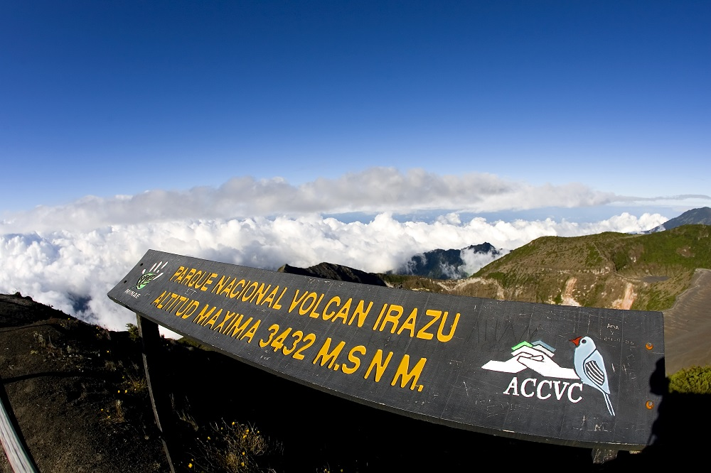 The Irazu Valcano National Park. Photo: Action Sports Photography/Shutterstock