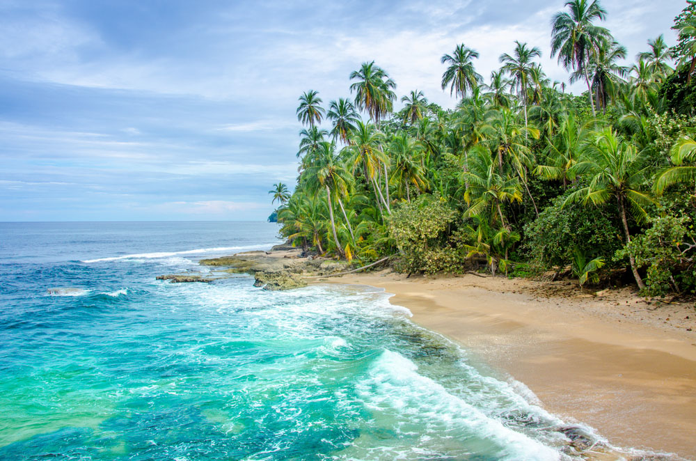 Manzanillo Beach is one of the most relaxed in Costa Rica.