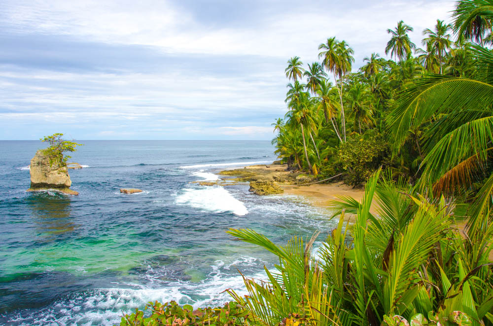 Costa Rica's finest beaches are often backed by jungle.