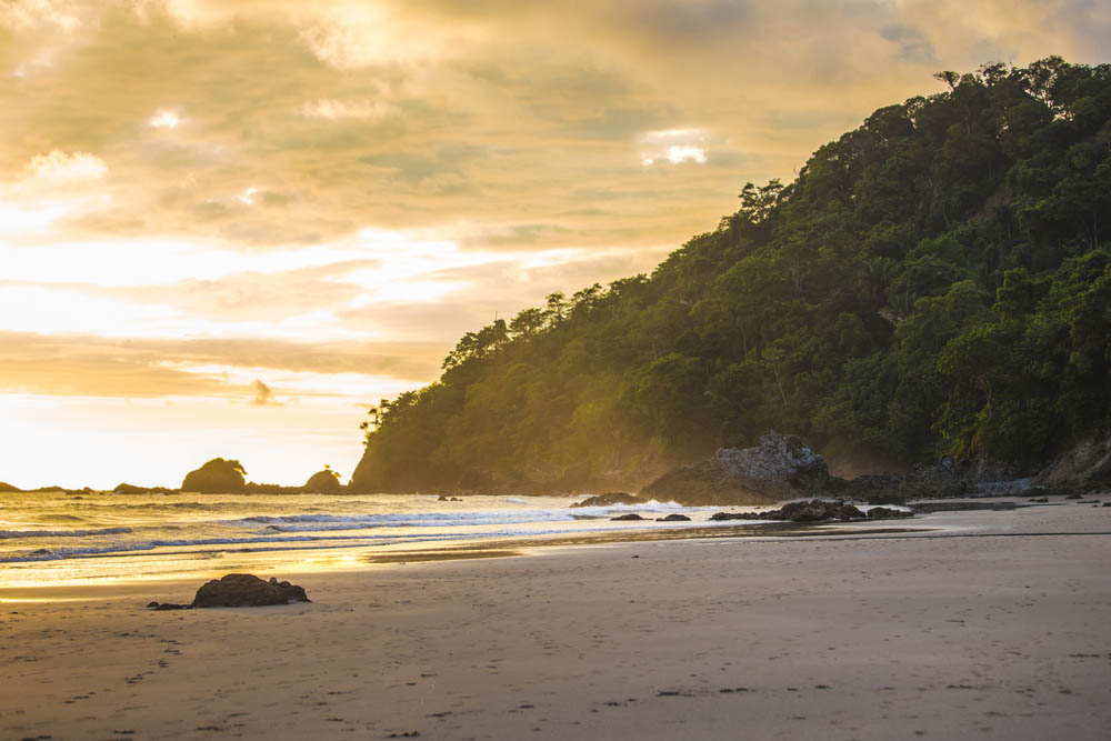 Manuel Antonio Beach is one of the wildest in Costa Rica.