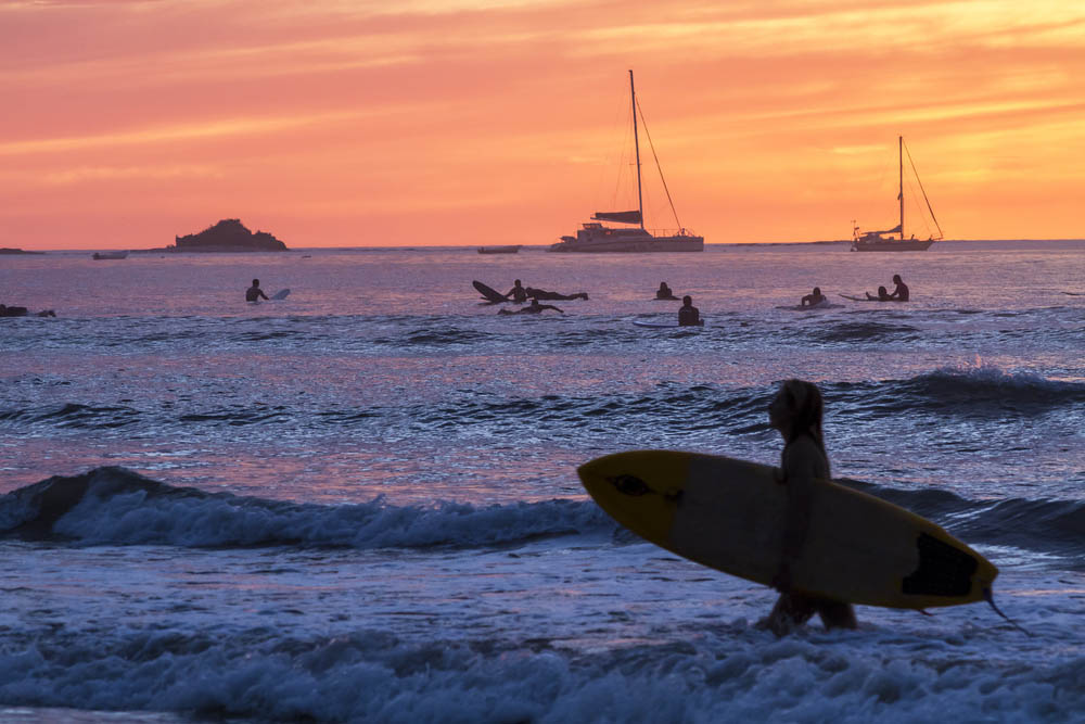 Costa Rica's best beaches attract surfers, snorkellers and sunbathers alike.