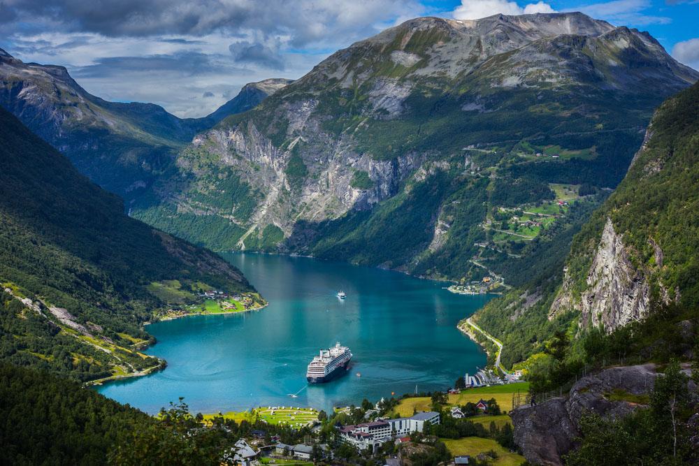 Geiranger fjord, Norway. Photo: Shutterstock