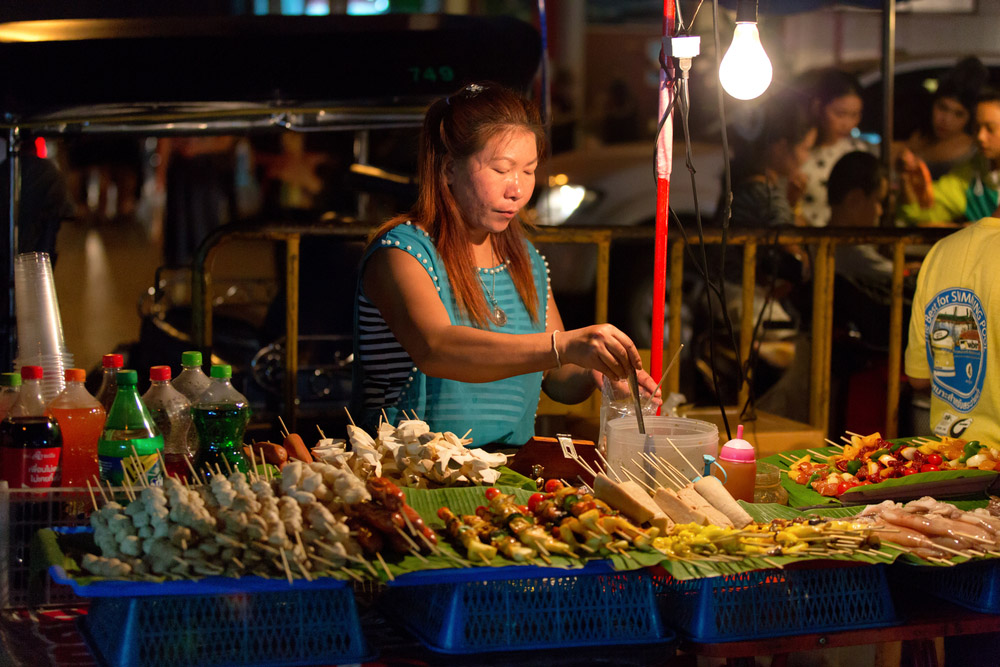 The Chiang Mai Night Bazaar. Photo: Shutterstock