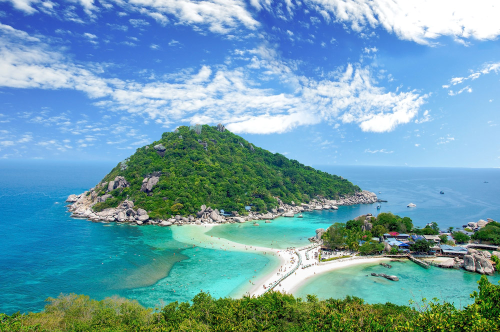 Koh Nangyuan, Surat Thani, Thailand. Photo: Shutterstock